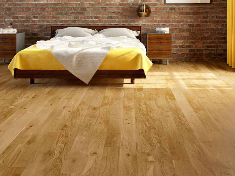 Sàn gỗ tự nhiên an toàn sức khỏe người dùng, cải thiện chất lượng không khí hiệu quả.