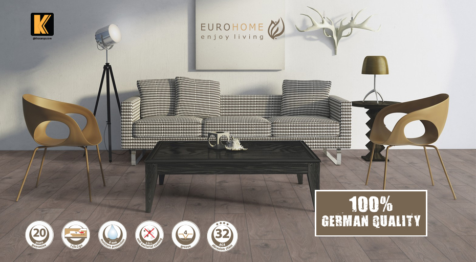 Sàn gỗ Euro home chính hãng Đức