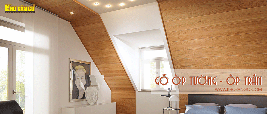 gỗ ốp tường - ốp trần
