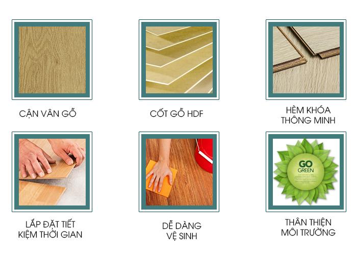 sàn gỗ công nghiệp F8 90763-1