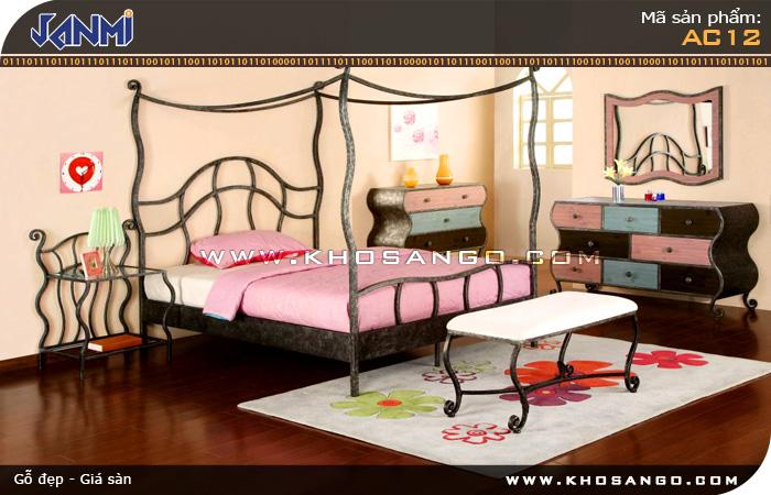 Sàn gỗ JANMI AC12- Lót sàn gỗ phòng ngủ