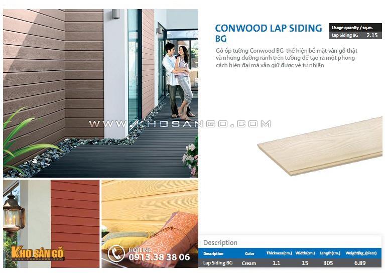 Ốp tường Conwood Siding BG