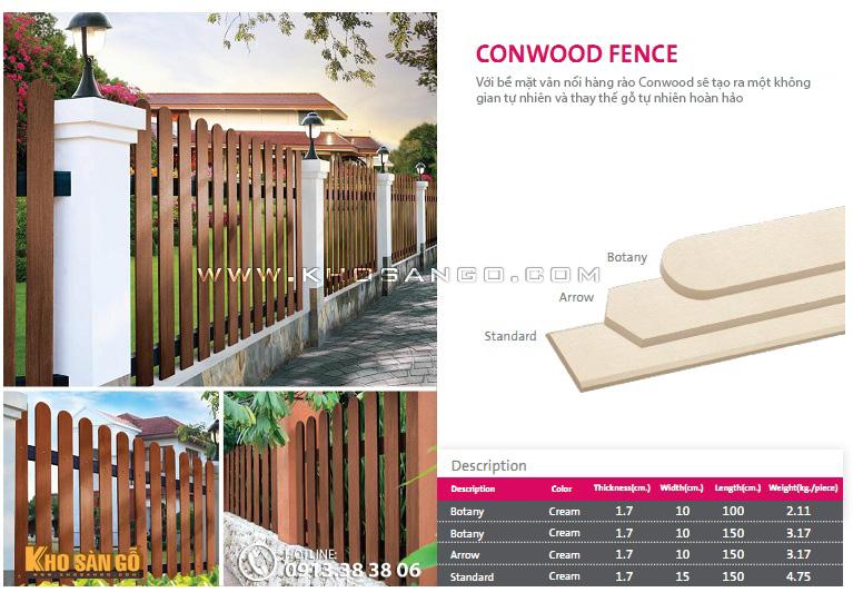 Hàng rào Conwood Fence