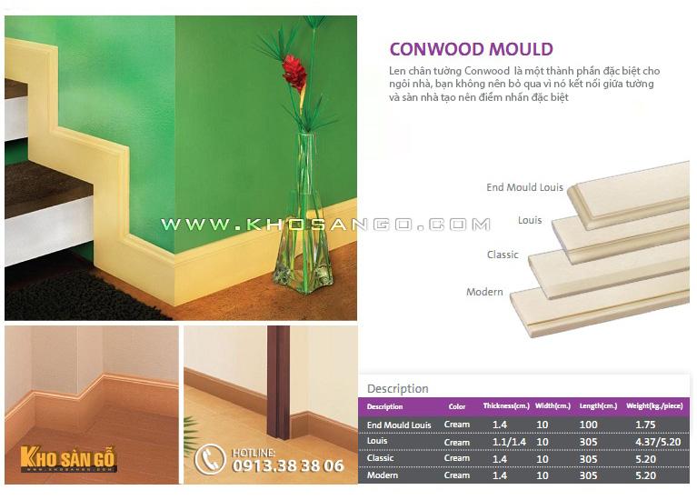 Len chân tường Conwood Mould