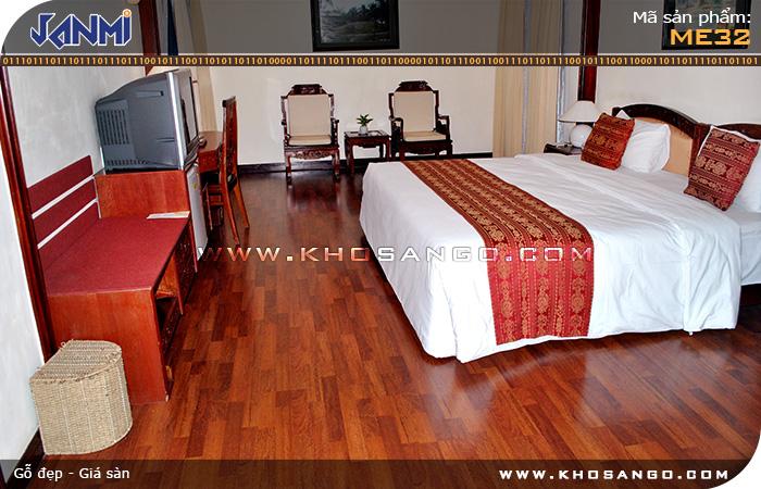Sàn gỗ JANMI ME32 - Lót sàn gỗ nhà hàng