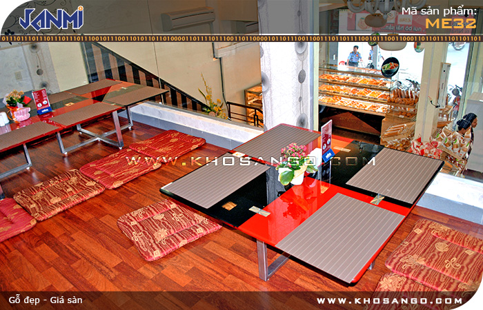Sàn gỗ JANMI ME32 - Lót sàn gỗ phòng ngủ