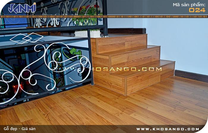 Sàn gỗ JANMI O24 Lót sàn hành lang