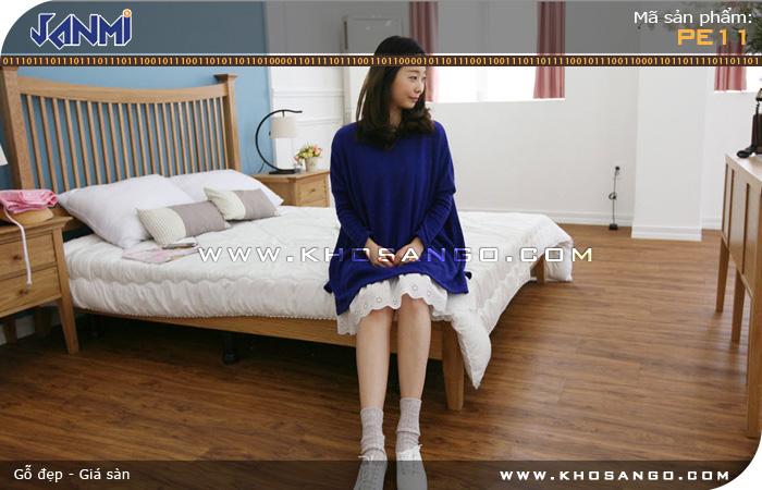 Sàn gỗ JANMI PE11 - Lót sàn phòng ngủ