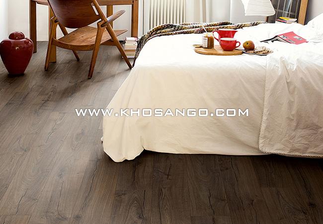 Sàn gỗ công nghiệp lót sàn phòng ngủ