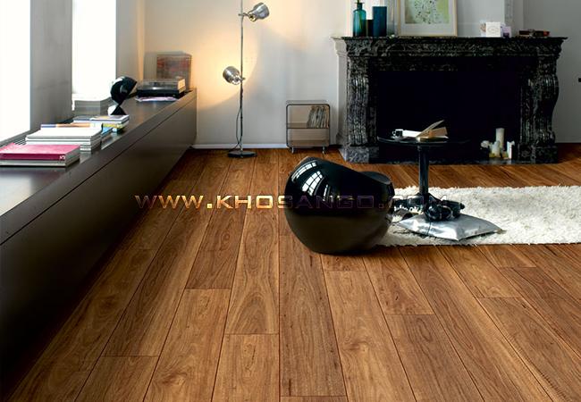 Sàn gỗ phòng khách sang trọng và đẳng cấp