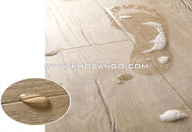 sàn gỗ công nghiệp cao cấp chịu nước phù hợp mọi không gian gia đình