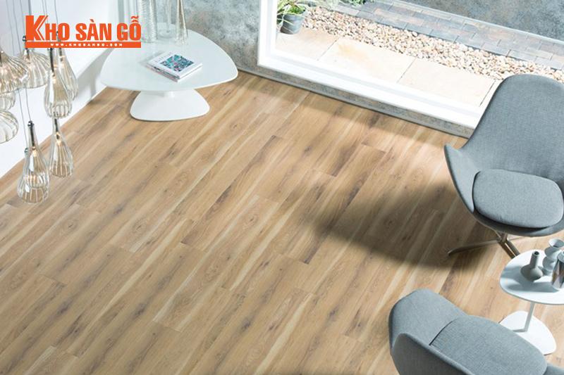 hướng ánh sáng khi lắp đặt sàn gỗ