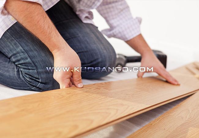 Hướng dẫn lắp đặt sàn gỗ công nghiệp