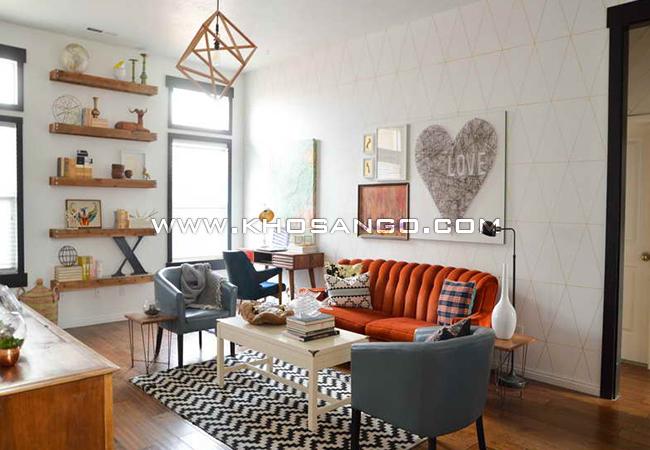 Sàn gỗ là vật liệu lót sàn hiện đại