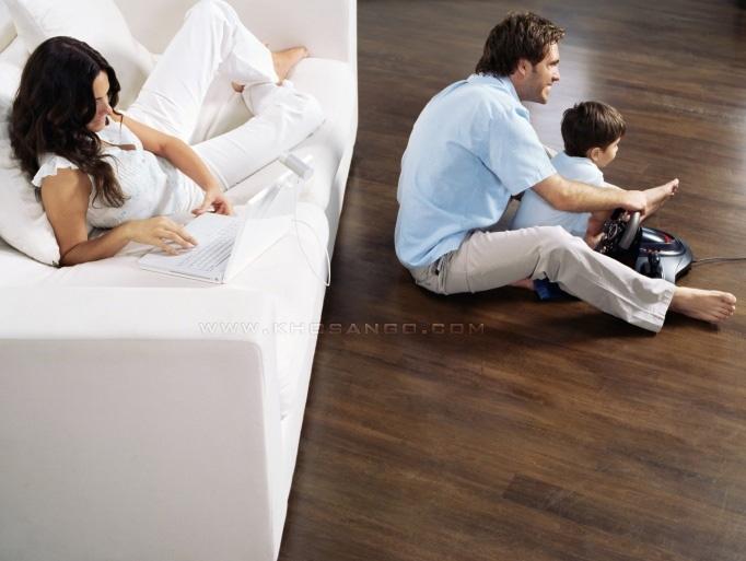 sàn gỗ gia đình