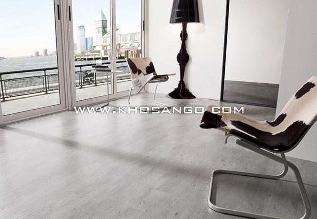 Sàn gỗ thích hợp cho những ai yêu tone màu trắng