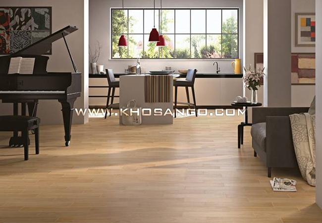 Không gian sống xanh với vật liệu sàn gỗ