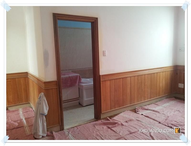 Lamri gỗ ốp tường cho phòng ngủ