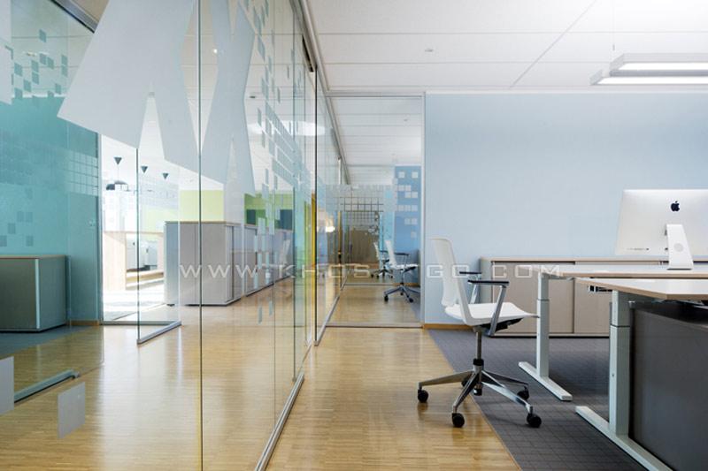 sàn gỗ phòng làm việc công ty