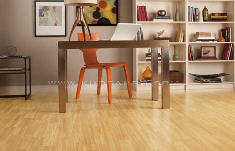 sàn gỗ phòng làm việc cá nhân