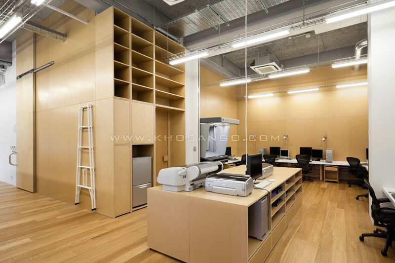 sàn gỗ văn phòng công ty