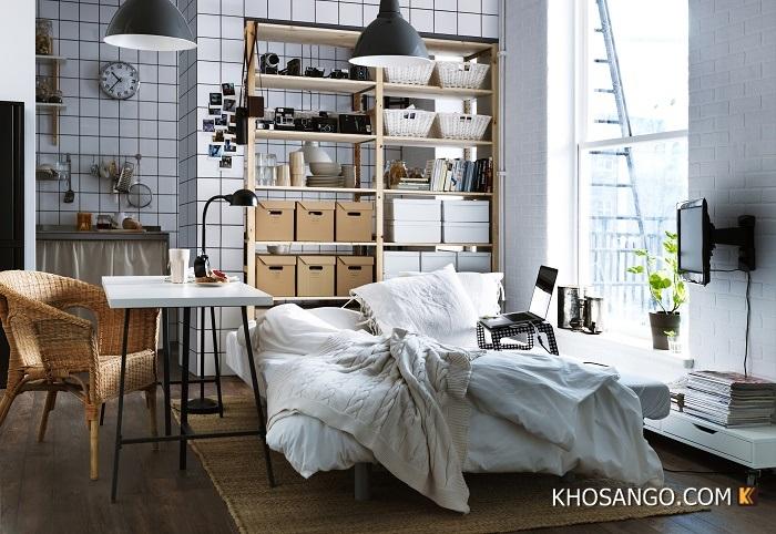 Sàn gỗ phòng ngủ đẹp