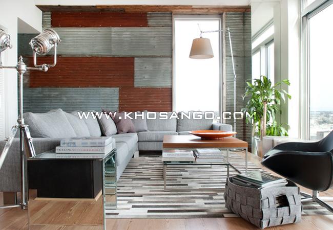 Sàn gỗ chung cư hiện đại