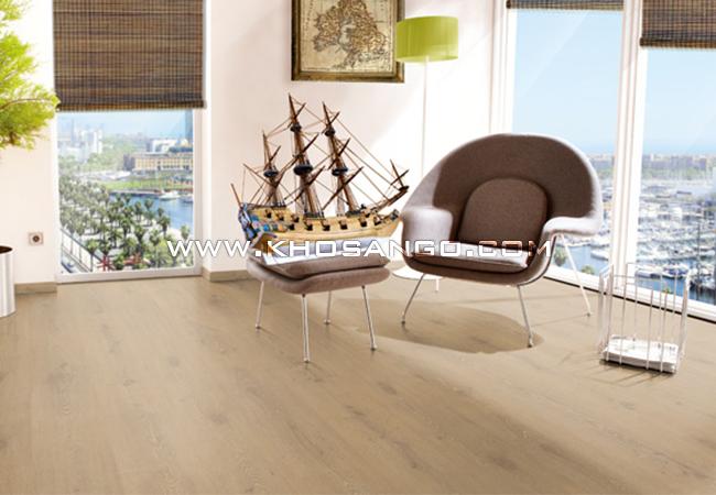 Sàn gỗ lót sàn tại chung cư cao cấp và hiện đại